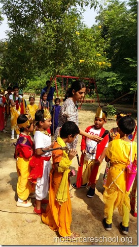 A short crisp Ramleela to see the story unfold bt children of LKG and MAG of Mothercare School (6)