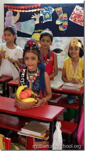 All set for Raasleela  at Mothercare School (1)