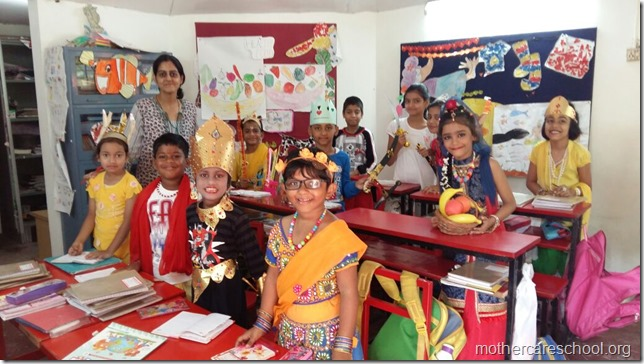 All set for Raasleela at Mothercare School (2)