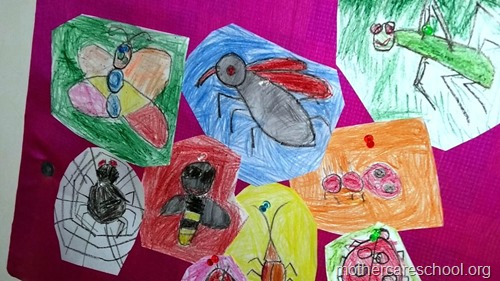 Art by nursery kids at Mothercare lucknow (1)