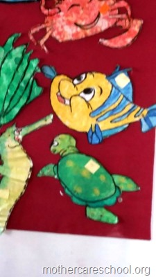 Art by nursery kids at Mothercare lucknow (13)