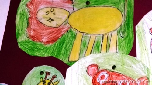 Art by nursery kids at Mothercare lucknow (7)