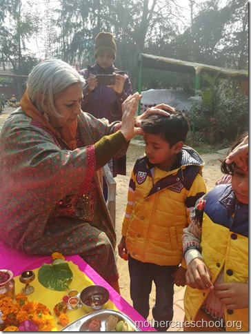 Basant Panchmi celebrations at Mothercare School Lucknow (14)