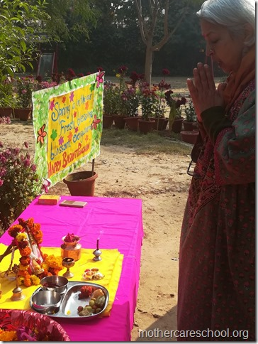 Basant Panchmi celebrations at Mothercare School Lucknow (7)