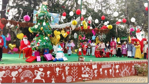 Christmas at school, India (1)