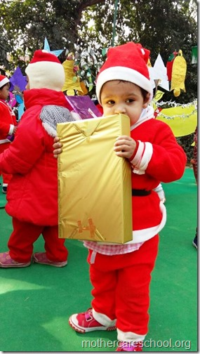 Christmas at school, India (2)