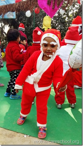 Christmas at school, India (3)