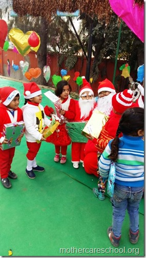 Christmas at school, India (4)