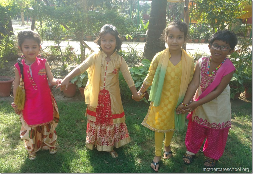 Colourful Dresses and happy faces