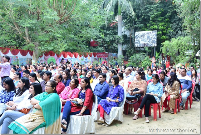 Demonstration to Parents of dramatisation as learning tool for their kids (1)