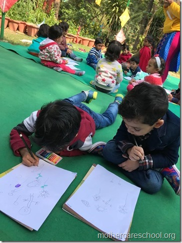 drawing competition at mothercare school lko (10)