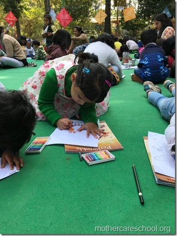 drawing competition at mothercare school lko (12)