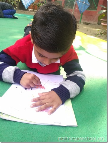 drawing competition at mothercare school lko (2)