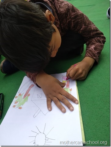 drawing competition at mothercare school lko (3)