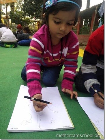 drawing competition at mothercare school lko (7)
