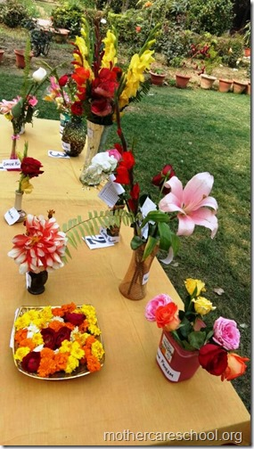 Flower Arrangement Competition by children (1)
