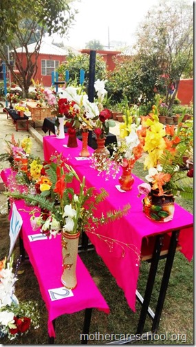 Flower Arrangement Competition by children (7)