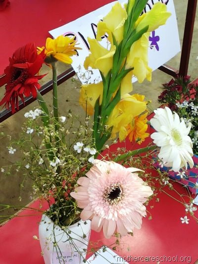 flower arrangement mothercare school, aliganj, lucknow (11)