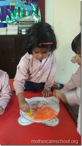 Handwork, art and story time (2)