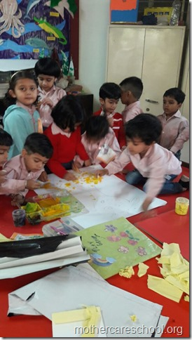 Handwork, art and story time (3)