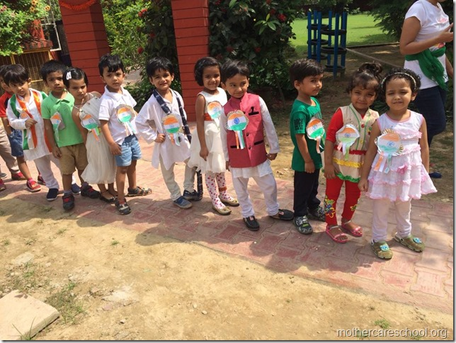 Independence Day celebrations at Mothercare School (2)