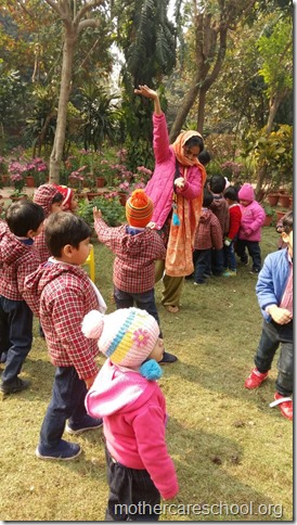 LOHRI and Makar Sankranti celebration in school with a bonfire (1)