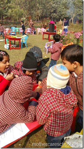 LOHRI and Makar Sankranti celebration in school with a bonfire (11)