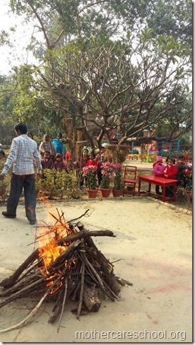 LOHRI and Makar Sankranti celebration in school with a bonfire (13)