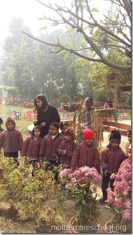 LOHRI and Makar Sankranti celebration in school with a bonfire (16)