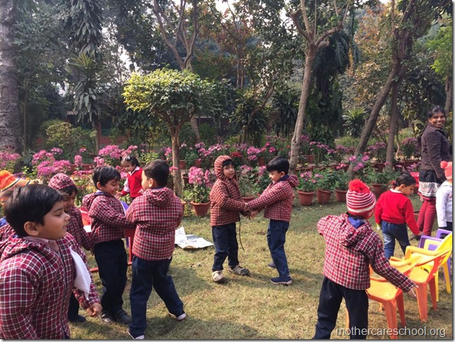 LOHRI and Makar Sankranti celebration in school with a bonfire (3)