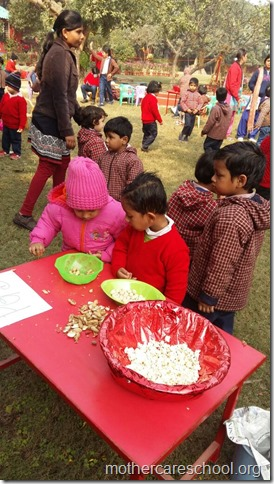 LOHRI and Makar Sankranti celebration in school with a bonfire (9)