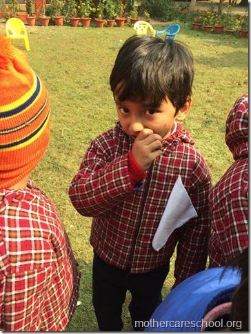 LOHRI and Makar Sankranti celebration in school with a bonfire 54