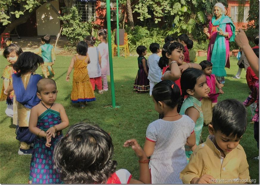 Mothercare School kids celebrating Happiness of harvesting on Baisakhi (3)