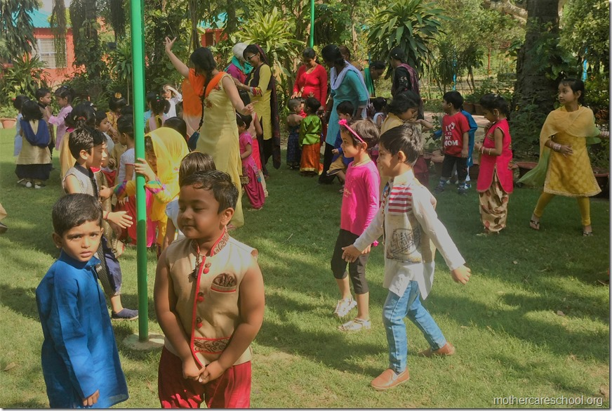Mothercare School kids celebrating Happiness of harvesting on Baisakhi (4)