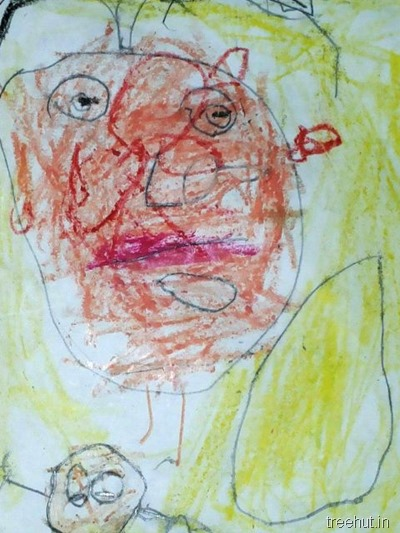 mothers day art by nursery children (1)
