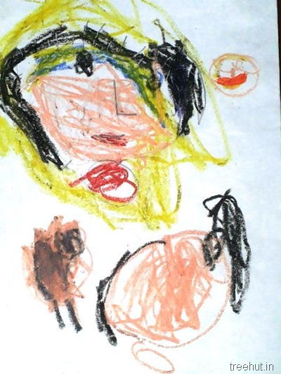 mothers day art by nursery children (2)