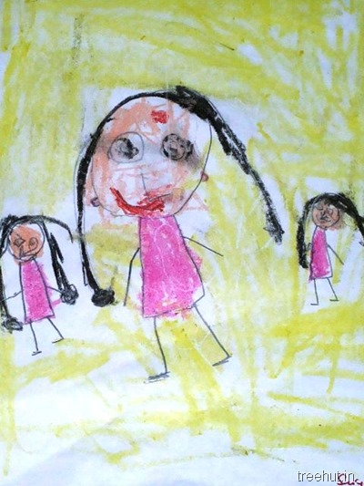 mothers day art by nursery children (3)