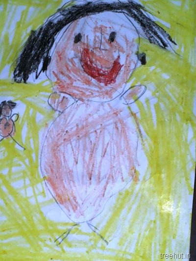 mothers day art by nursery children (6)