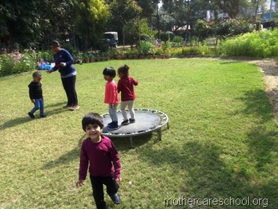 Nursery and primary School, Aliganj, Lucknow