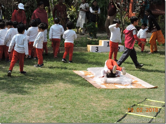 Playgroup A on Sports Day1