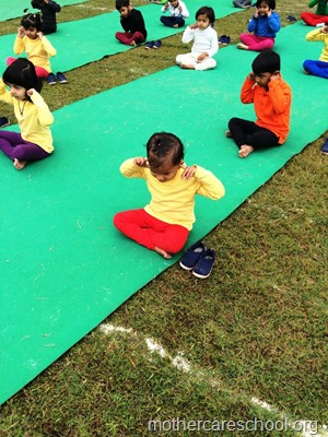 Sports and yoga day at Mothercare school, lucknow (10)