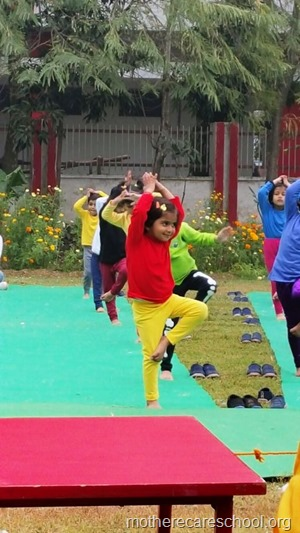 Sports and yoga day at Mothercare school, lucknow (3)