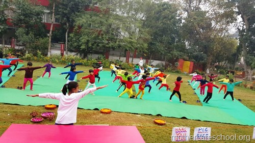 Sports and yoga day at Mothercare school, lucknow (4)