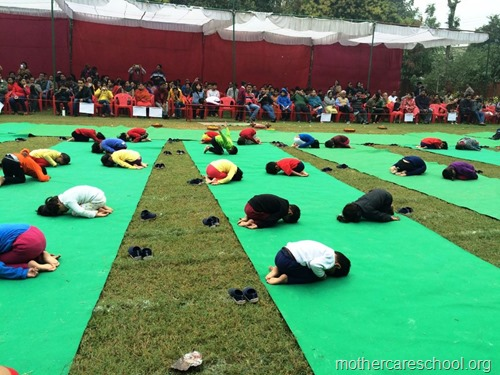 Sports and yoga day at Mothercare school, lucknow (9)