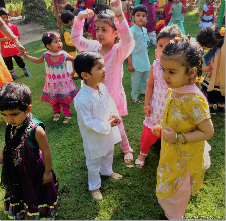 The new ones being initiated to the Mothercare way of learning (4)