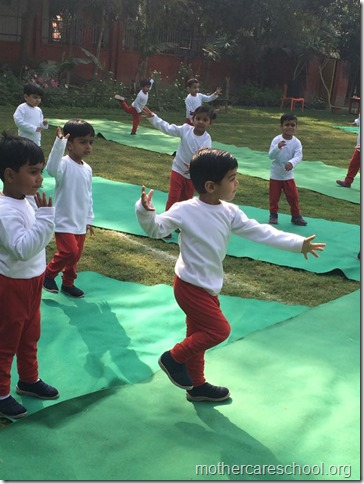 What fun. Sports Day at Mothercareschool Lucknow